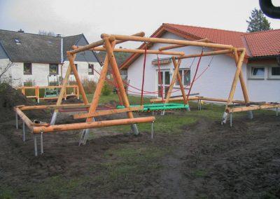 Gestaltung eines Spielplatzes